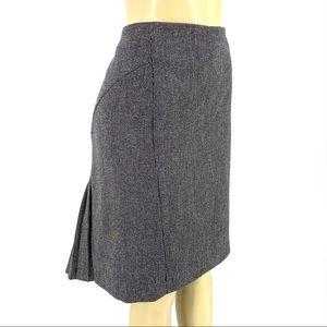 Express wool blend pencil skirt